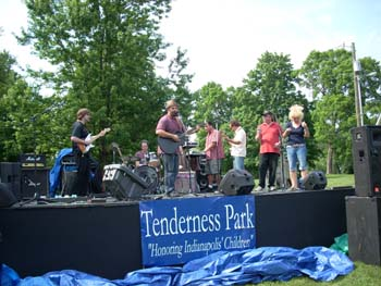 Tenderness Tour Group Sing